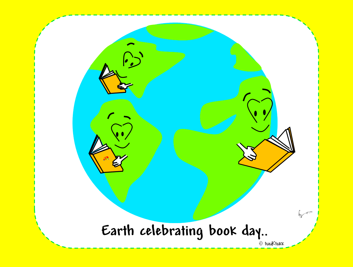 Celebrating Earth & Book Day!